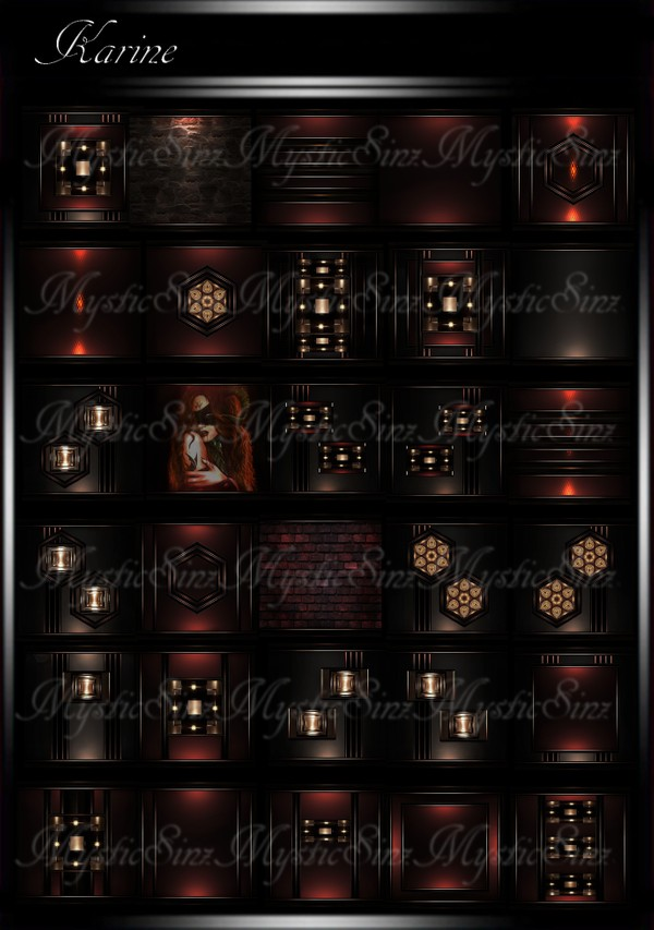 Karine IMVU Room Texture Collection