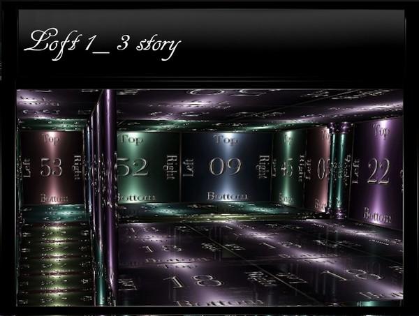 Loft1_Three-Story IMVU Mesh