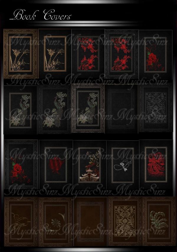 Book Cover Textures IMVU
