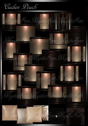 IMVU Cadien Peach Room Collection