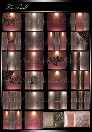 IMVU Textures LoveBirds Room Collection