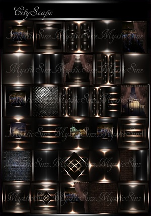 City Scape IMVU Room Collection