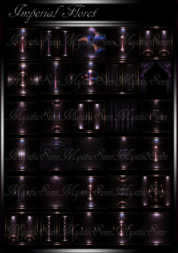 Imperial Floret IMVU Room Texture Collection