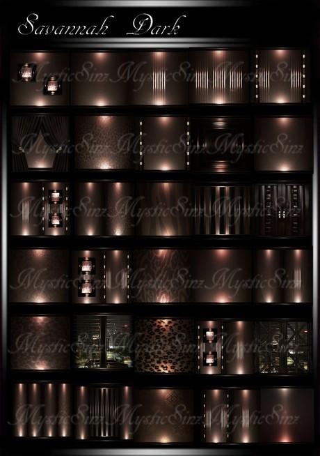 Savannah Dark IMVU Room Texture Collection