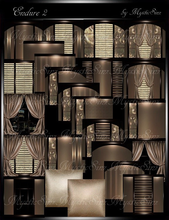 IMVU Textures Endure II Room Collection