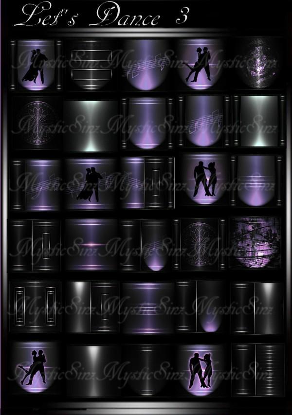 Let's Dance 3 IMVU Room Texture Collection