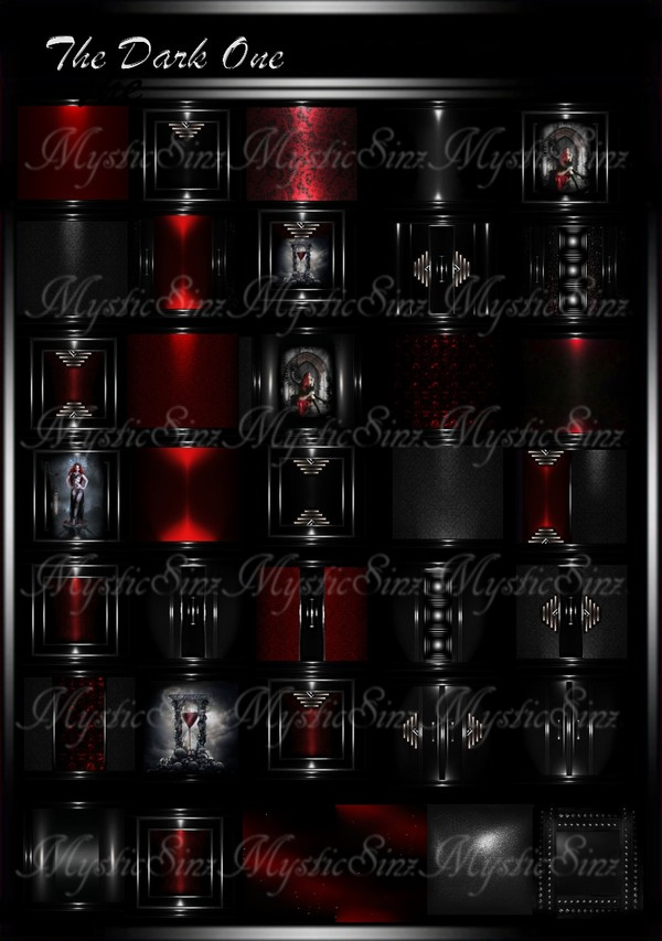 The Dark One IMVU Room Textures Collection