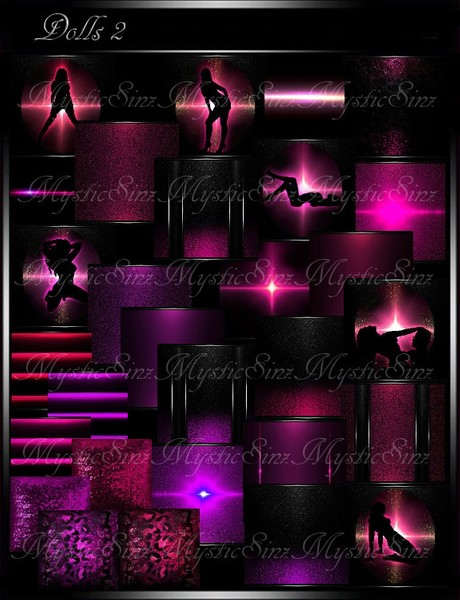 IMVU Textures Dolls 2 Dance Club