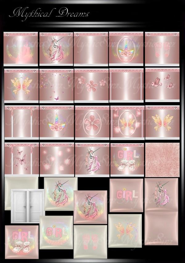 Mythical Dreams IMVU Room Textures