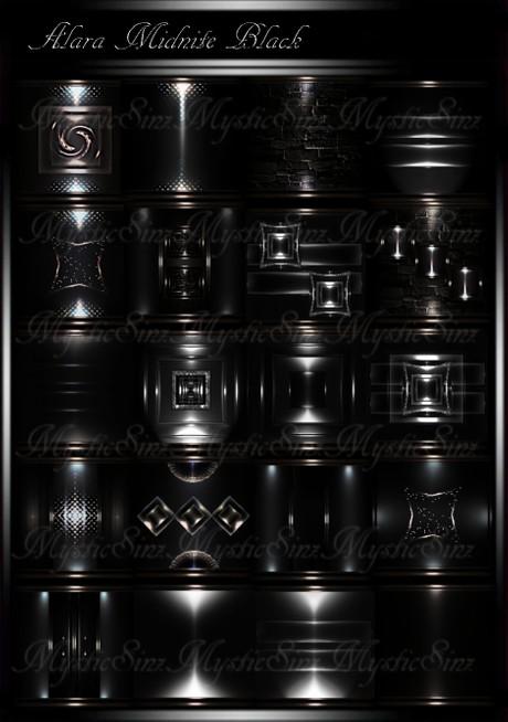 Alara MidNite Black IMVU Room Textures