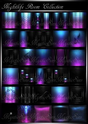 IMVU Textures Nightlife Room Collection