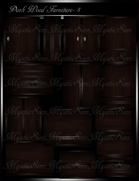 Dark Wood Furniture Textures