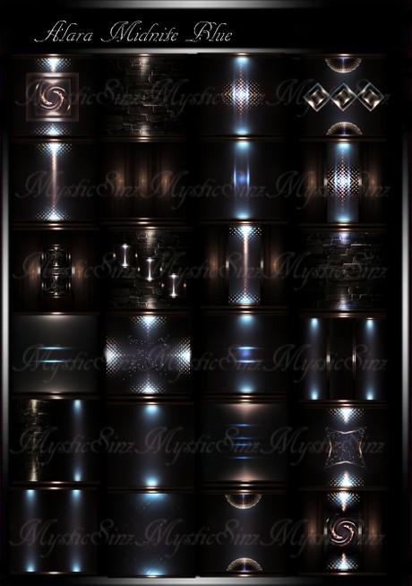 Alara MidNite Blue IMVU Room Textures