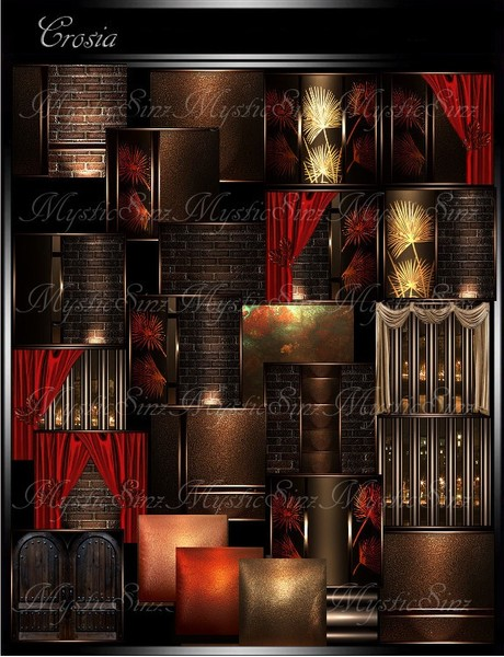 IMVU Textures Crosia Room Collection