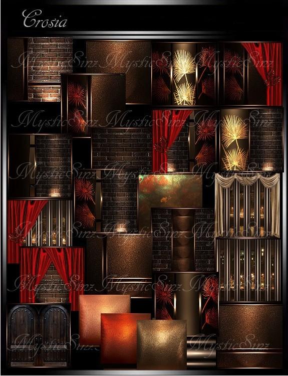 IMVU Textures Crosia Room Collection