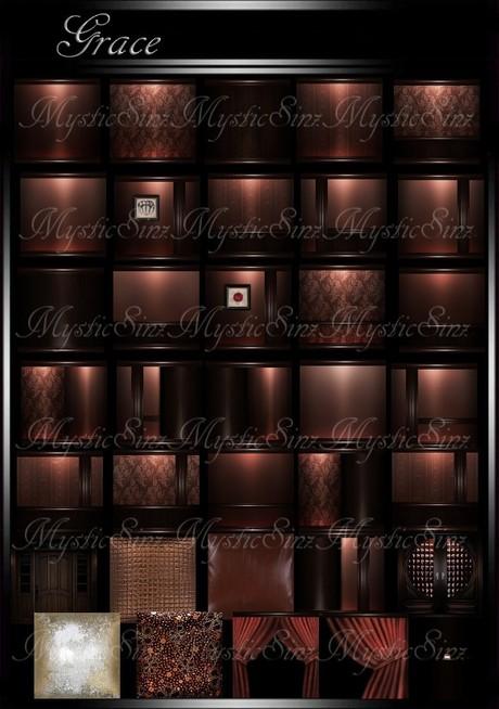 IMVU Grace Room Collection Textures