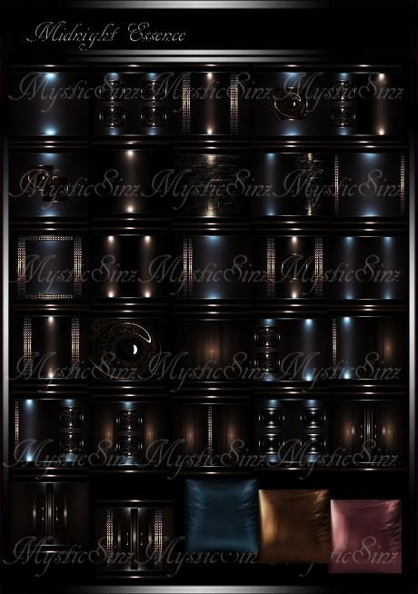 Midnight Essence IMVU Room Collection