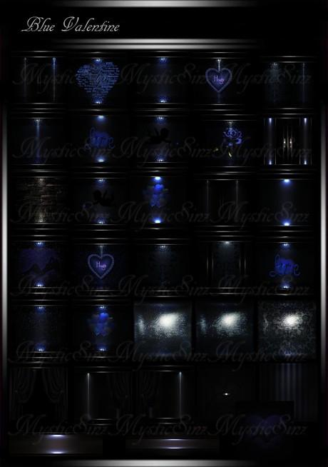 Blue Valentine IMVU Room Collection