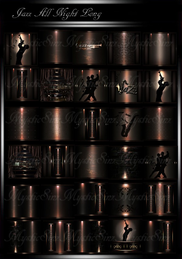 Jazz All Night Long IMVU Room Textures
