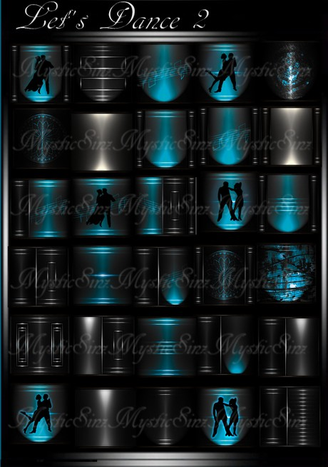 Let's Dance 2 IMVU Room Texture Collection