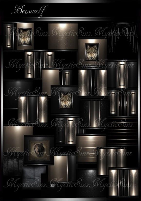 IMVU Beowulf Room Collection