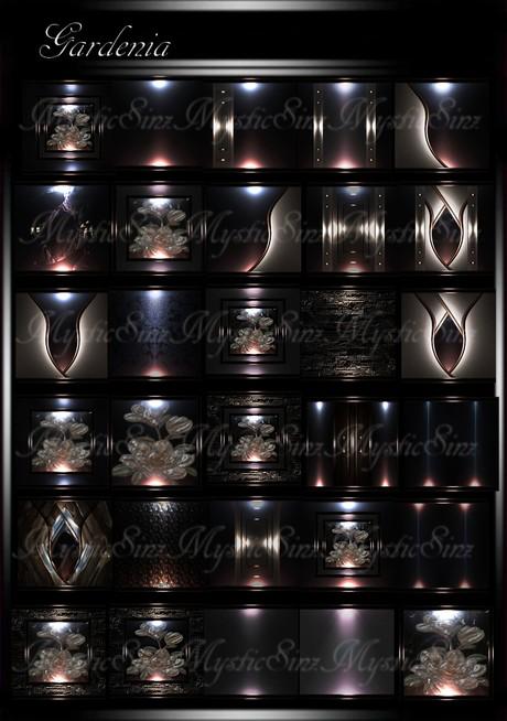 Gardenia IMVU Room Textures Collection