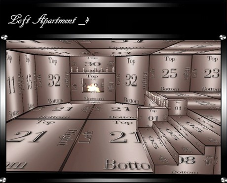 Loft Apartment. _4 IMVU Room Mesh