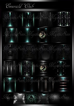 Emerald Club Room Collection IMVU