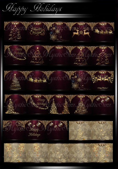 Happy Holidays IMVU Christmas Textures