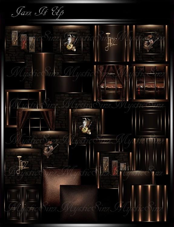 IMVU Textures Jazz It Up Room Collection