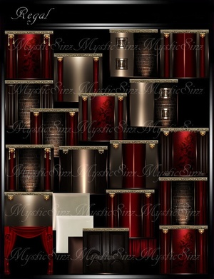 IMVU Textures Regal Room Collection