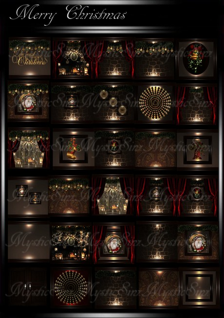 Merry Christmas IMVU Room Texture Collection