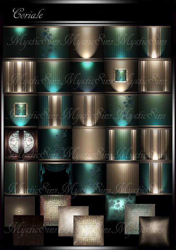 IMVU Textures Coriale Room Collection