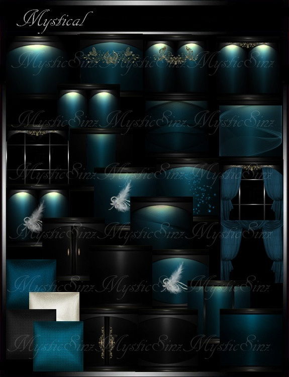 IMVU Room Textures Mystical Room Collection