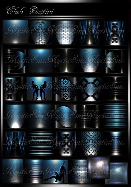 IMVU Club Destini Room Collection