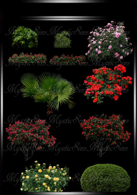 Bushes & Trees IMVU Textures