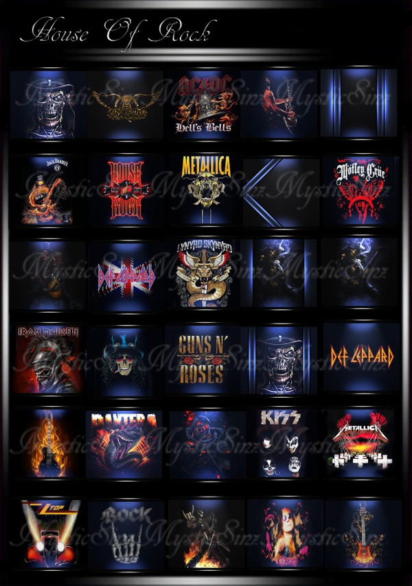 House Of Rock IMVU Room Texture Collection [10 Limited Sales]