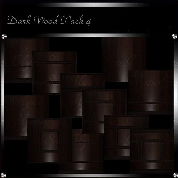 Dark Wood Texture Pack 4