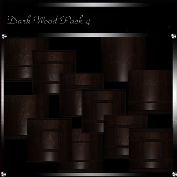 Dark Wood Texture Pack 4