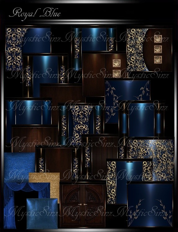 Royal Blue Room Collection