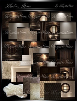 IMVU Textures Modern Home Room Collection