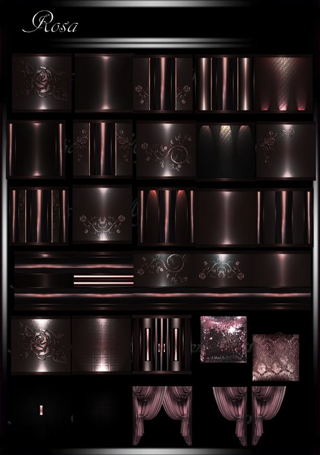 Rosa IMVU Room Texture Collection