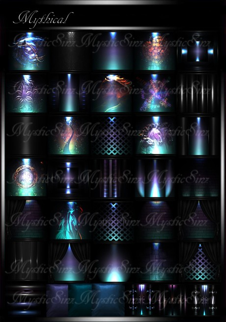 Mythical IMVU Room Texture Collection