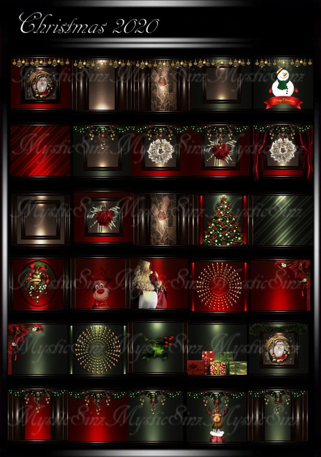 Christmas 2020 Room Texture Collection IMVU