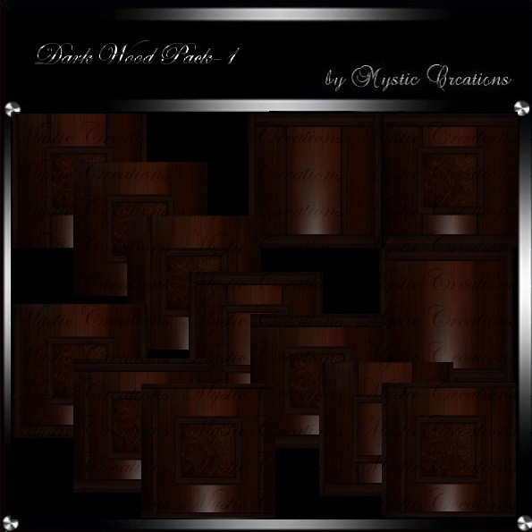 IMVU Textures Dark Wood 1