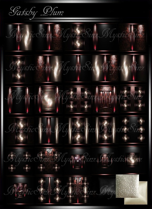 Gatsby Plum Room Collection IMVU
