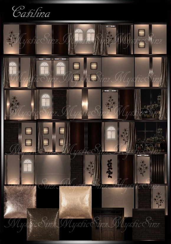 IMVU Textures Catalina Room Collection