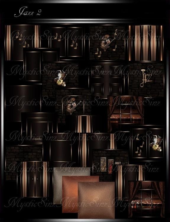 IMVU Textures Jazz 2 Room Collection