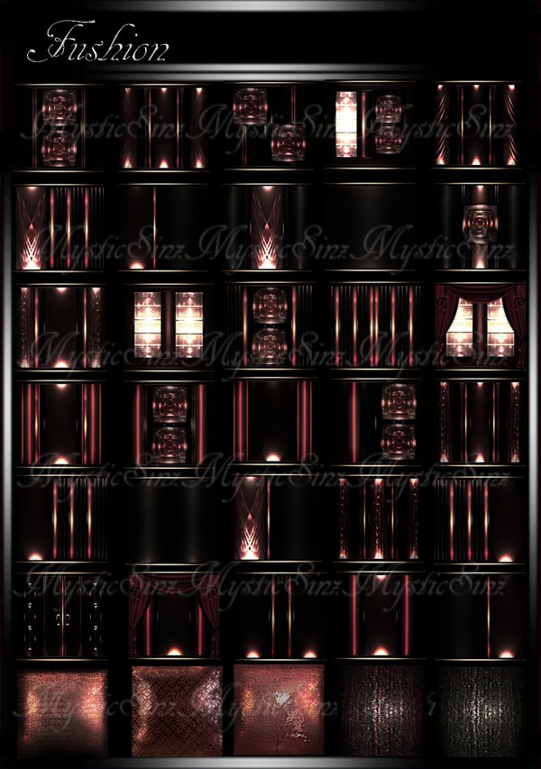 IMVU Fushion Room Collection