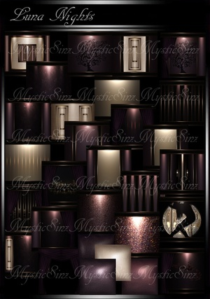 IMVU Luna Night Room Collection